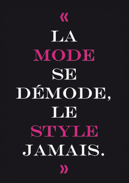 Histoire de Style…